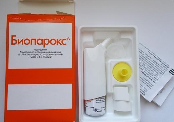 препарат и инструкция препарата биопарокс