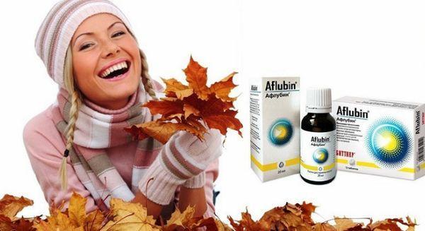 Афлубин от простуды