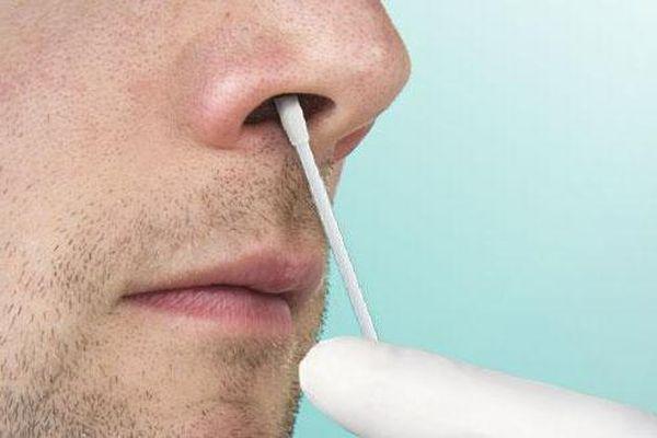 смазывание в носу