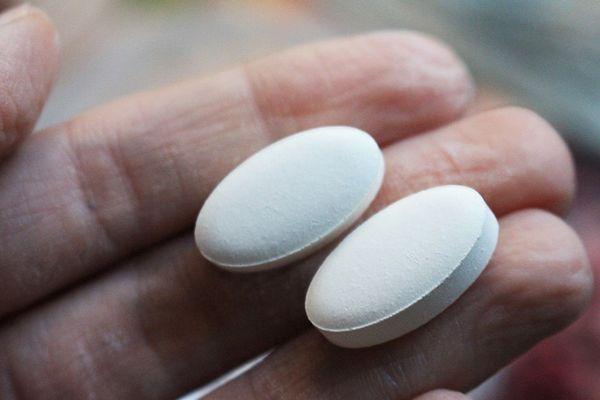 две таблетки
