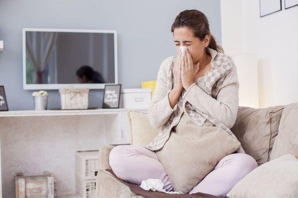 насморк у беременных