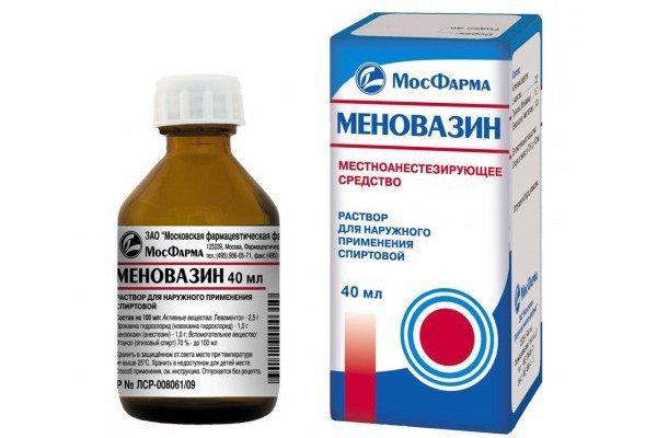 препарат меновазин