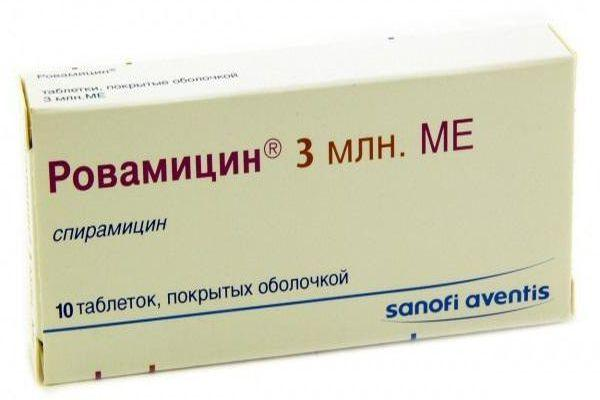 препарат ровамицин