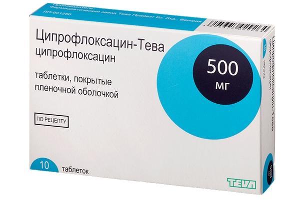 ципрофлоксацин-тева