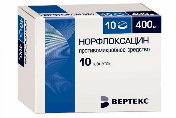 Норфлоксацин – инструкция по применению, дозы, показания