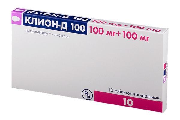 таблетки клион
