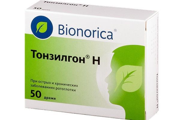 таблетки тонзилгон