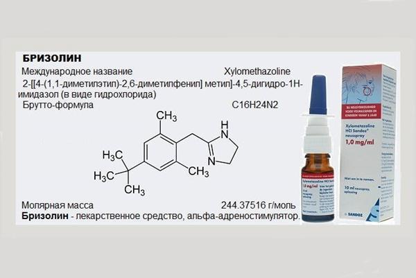 препарат бризолин