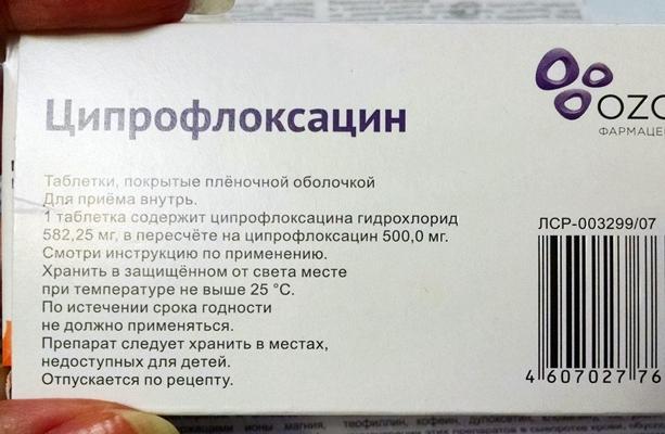 состав ципрофлоксацина