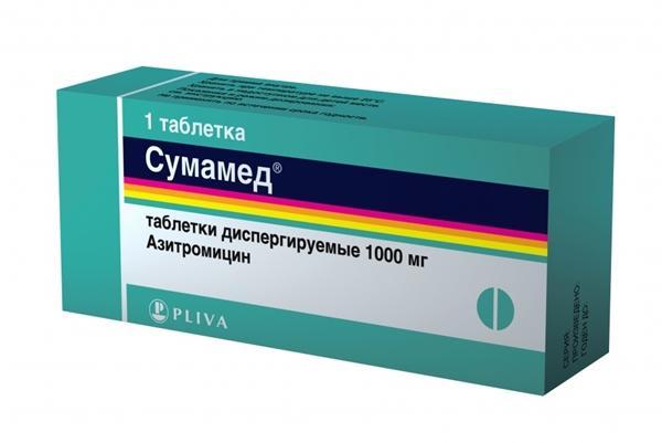 таблетка сумамед