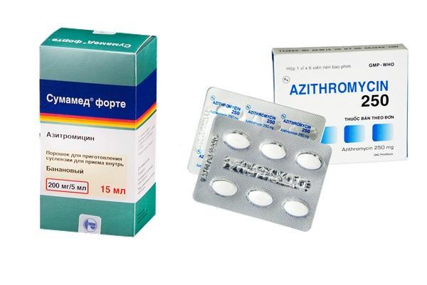 азитромицин и сумамед