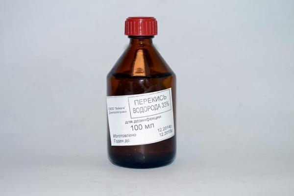 бутыль перекись водорода