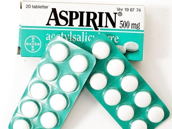 пластинки аспирина