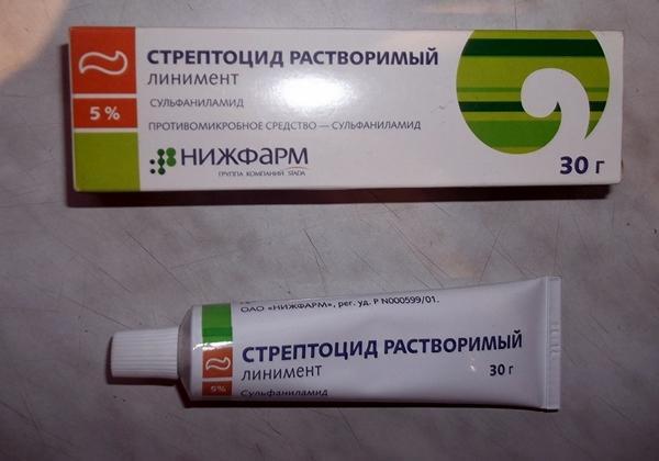 линимент стрептоцид