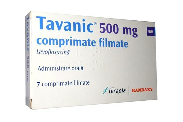 упаковка препарата таваник 500