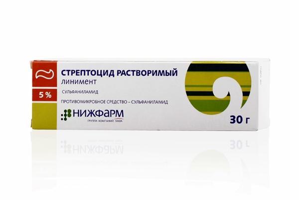 стрептоцид для наружного применения