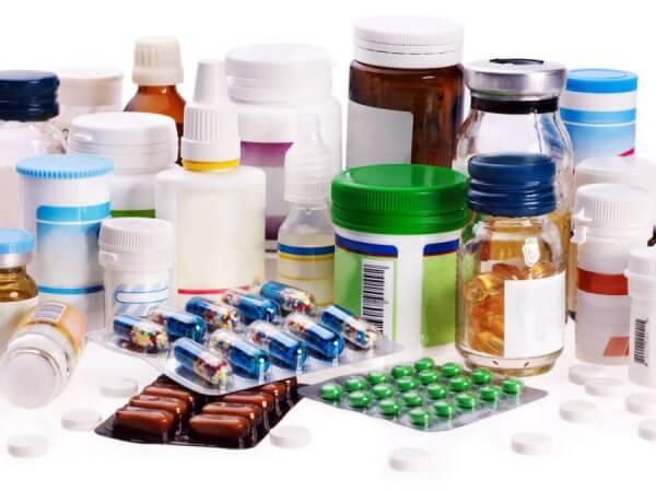 разные лекарства