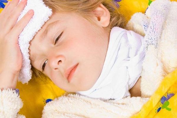 компресс на шею ребенку