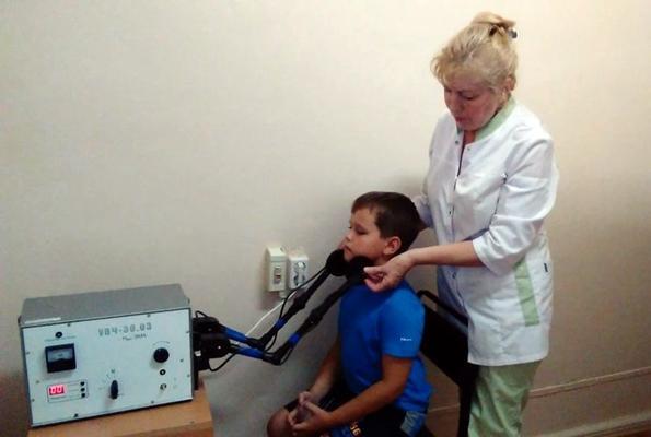 увч терапия при увеличенных лимфоузлах