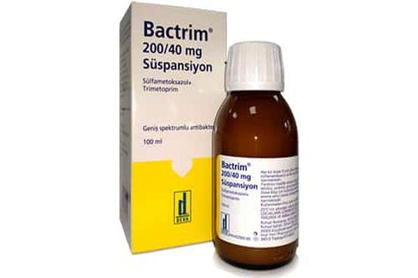препарат бактрим сироп