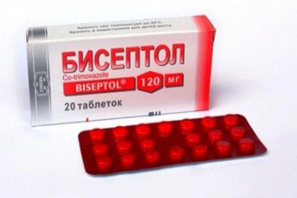 бисептол таблетки