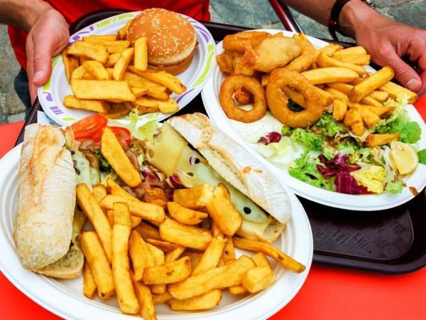 продукты неправильного питания