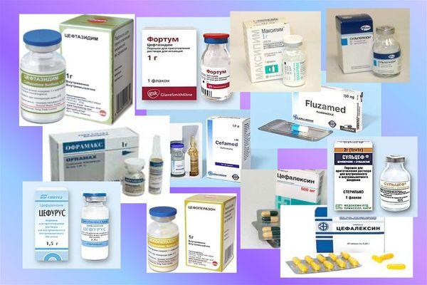 антибиотики аналоги