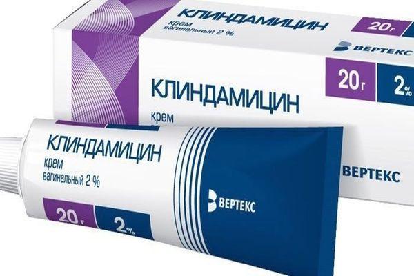 клиндамицин мазь