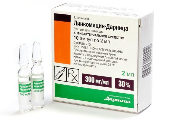 ампулы линкомицин