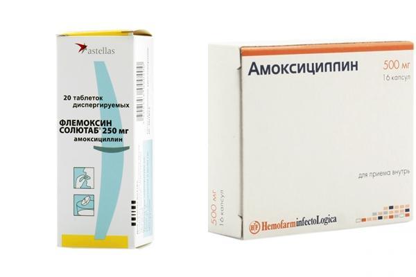Флемоксин солютаб или амоксициллин что лучше