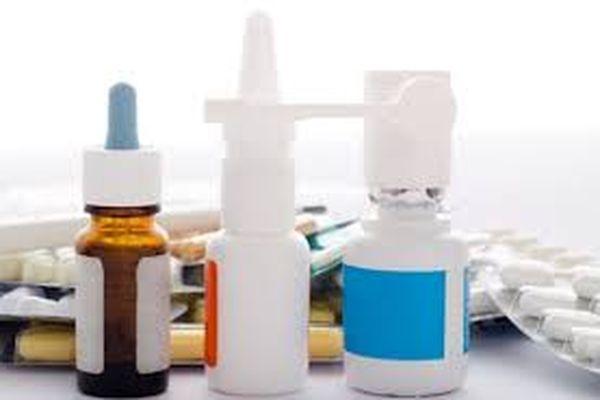 спреи и таблетки
