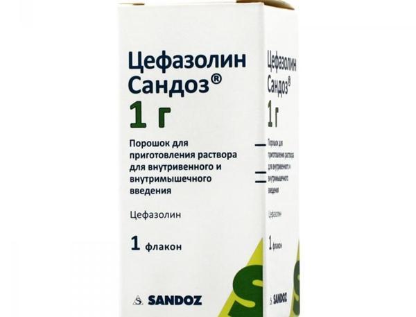Цефазолин Сандоз