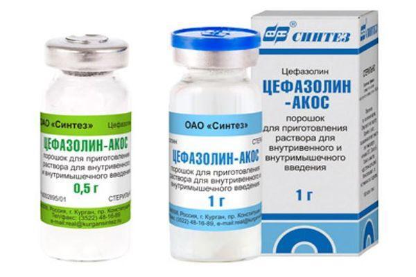 Цефазолин – инструкция по применению, показания, отзывы