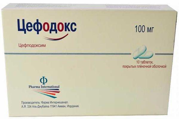 таблетки цефодокс