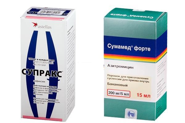 Сравнительная характеристика препаратов сумамед и супракс