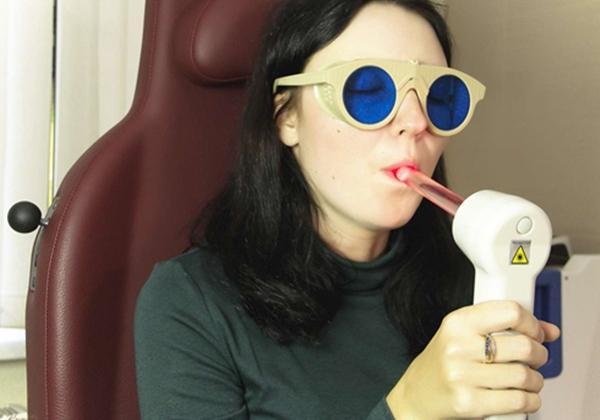 лазеротерапия при ангине