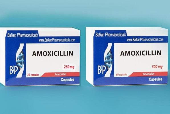 упаковки препарата амоксициллин