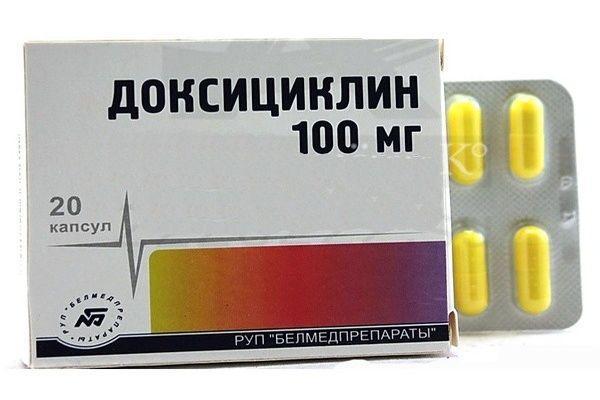препарат лечение доксициллин
