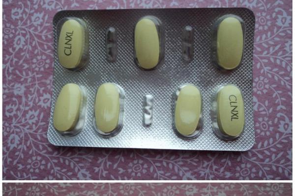 пластинки таблеток клабакс