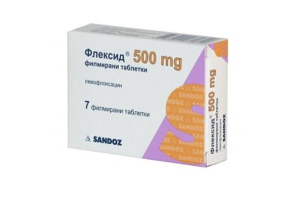 таблетки Флексид 500