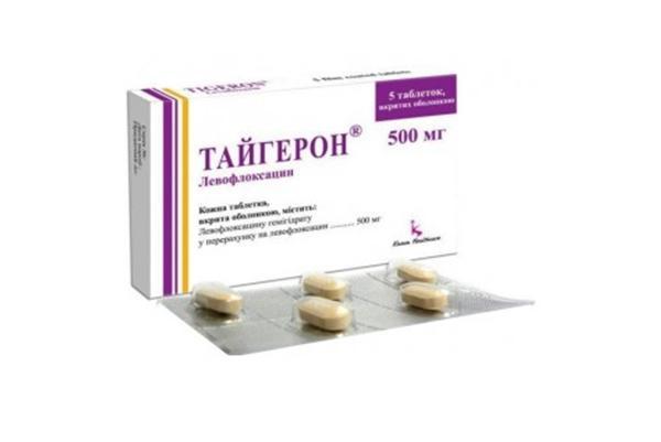 пластинка препарата тайгерон