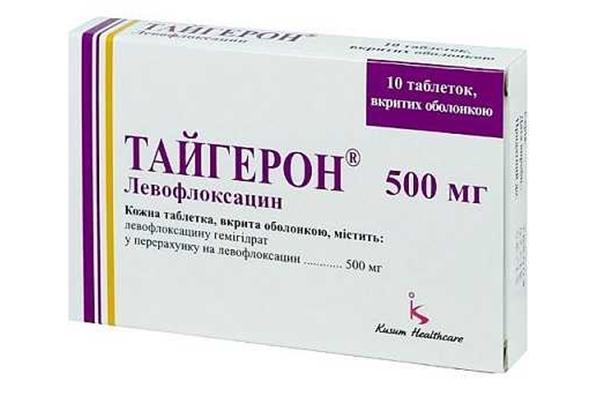 упаковка препарата тайгерон