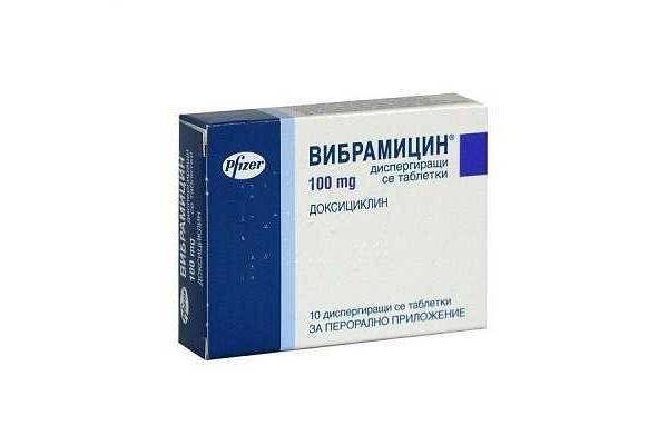препарат вибрамицин