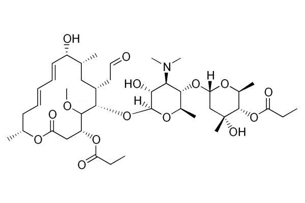 формула мидекамицина