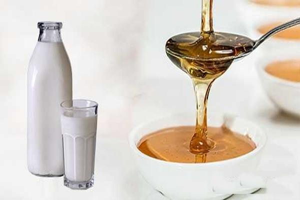 Молоко со жженым сахаром