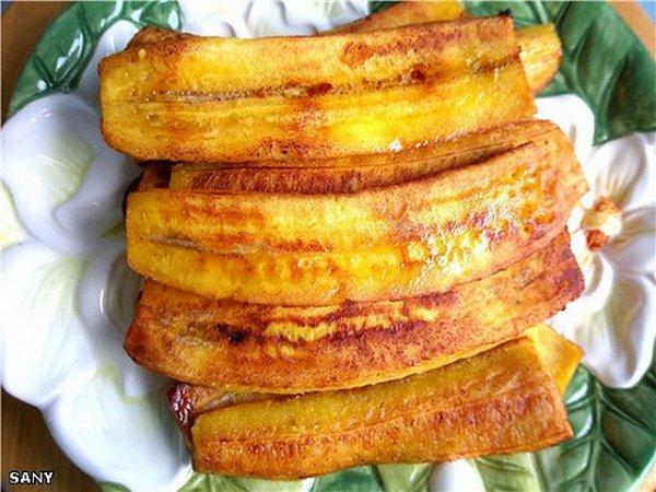 Жареный банан