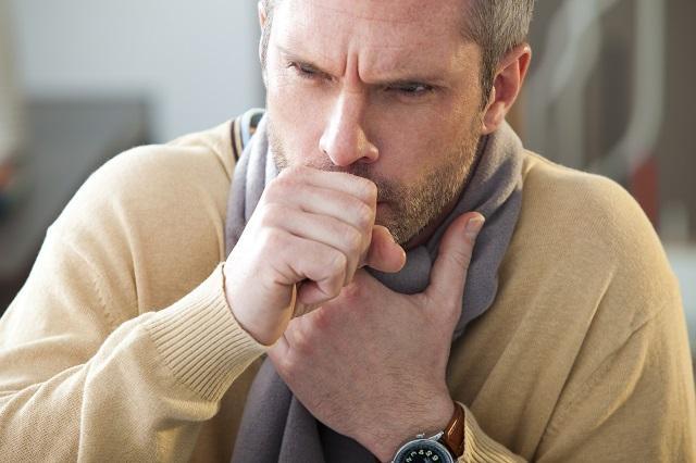 кашель у мужчины