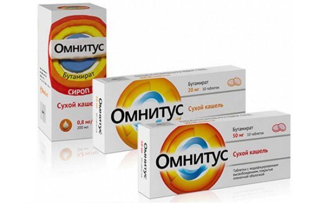 таблетки Омнитус