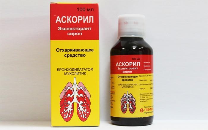 препарат от кашля