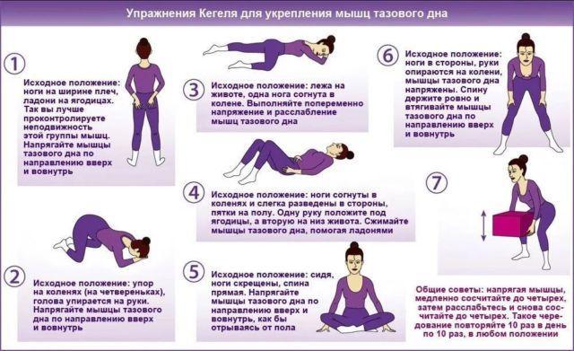 Физкультура и упражнения Кегеля